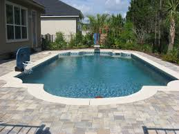 simple in ground pools round designs
