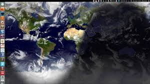 Daylight World Map by Use Wallpaper Clocks Live Earth Wallpaper In Ubuntu With