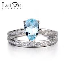aquamarine engagement rings compare prices on aquamarine promise ring online shopping buy low