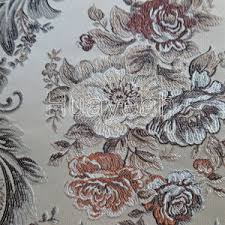 Material For Upholstery Jacquard Damask Brocade Fabric For Upholstery