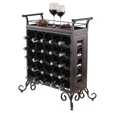 southern enterprises celtic bistro wine rack hayneedle