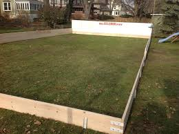 backyard ice rink boards outdoor goods