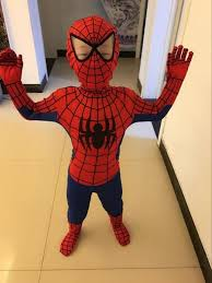 buy 2017 new spiderman costume spider man cosplay clothing