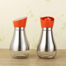 fourniture de cuisine fournitures de cuisine graisseur bouteille d huile en verre étanche