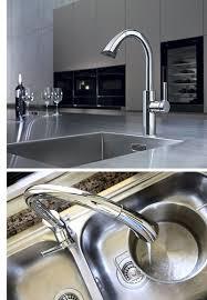 designer kitchen faucets kwc kitchen faucets awarding winning designer kitchen faucets