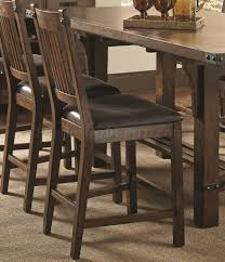 105708 counter height dining table by coaster w options