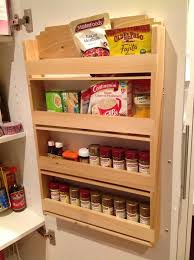 Spice Rack Pantry Door Poplar Spice Rack Designed To Hang On The Inside On The Pantry