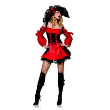 leg avenue swashbuckler vixen pirate wench costume optional
