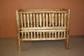 Baby Crib Convertible Cedar Log Baby Crib Convertible Barn Wood Furniture Rustic