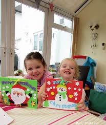 christmas crafts with baker ross mum thats me