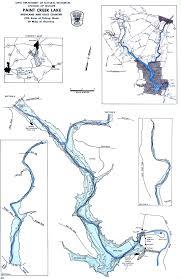 Map Of Southwest Ohio Paint Creek Lake Fishing Map Southwest Ohio Go Fish Ohio