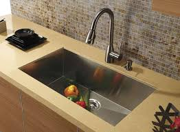 Brown Kitchen Sink Types Of Kitchen Sinks Read This Before You Buy