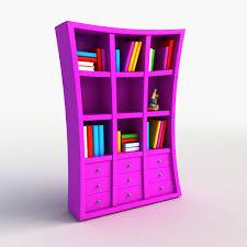 Purple Bookcase Bookshelf Max