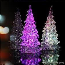 beautiful mini acrylic icy color changing led l