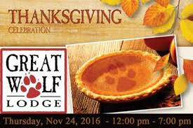 come enjoy a thanksgiving celebration at great wolf lodge