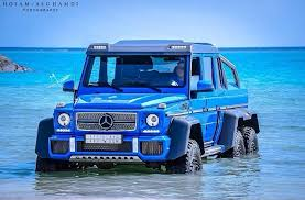 mercedes amg 6x6 cost bright blue mercedes g63 amg 6x6 spotted in saudi arabia
