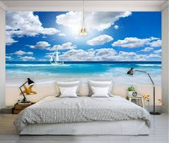 Blue And White Bedroom Wallpaper Online Get Cheap Blue White Wallpaper Aliexpress Com Alibaba Group
