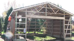 diy pole barns shed garage construction lp smartside my woodshop