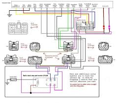 toyota corolla headlight wiring diagram electrical auris schematic