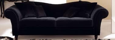 canapé baroque le canapé à crosse accoudoir rond