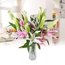 online get cheap silk flowers lily aliexpress com alibaba group
