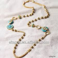 handmade bead necklace designs images 2014 tibetan plain long handmade beaded necklaces sediment inlay jpg