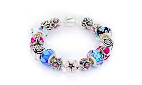 skull crystal bracelet images Up to 76 off on swarovski crystals bracelet groupon goods jpg