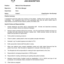 Receptionist Profile Resume Resume Sample Receptionist Resume Secretary Format Cover Letter
