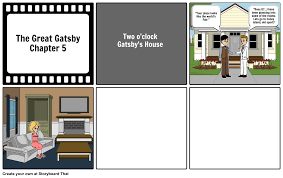gatsby s house description the great gatsby chapter 5 storyboard by lilbebe13