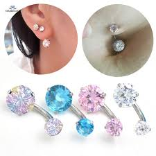 crystal belly rings images 8mm shining multicolor crystal belly ring earring navel piercing jpg