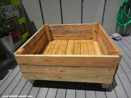 How To Build A Wood Patio by Easy Raised Garden Bed On Casters For Patio Or Deck 11 Steps