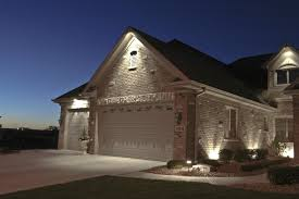 House Down Lighting Outdoor Accents Lighting Garage Door - Home outdoor lighting