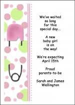free pregnancy announcement card wording sles for to be