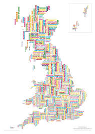 A Map Of England by A Map Of Britain U0027s Rudest Place Names The Poke