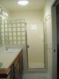 glass block bathroom ideas jolly glass block showers small bathrooms glass block after glass