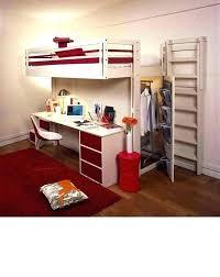 bureau sous mezzanine lit mezzanine avec bureau integre espace loggia a dressing lit