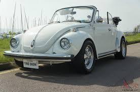 volkswagen convertible white 1303 beetle convertible