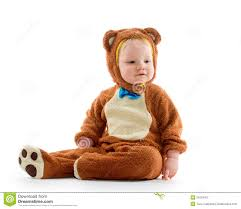halloween costume for baby boy baby boy in bear costume royalty free stock photo image 34253405