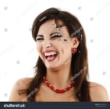 beautiful halloween background evil vampire woman beautiful halloween over stock photo 102939353