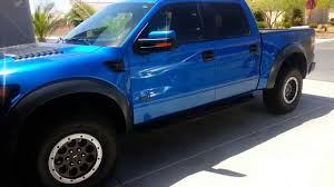 Ford Raptor Blue - my 2013 blue flame raptor with upgraded wheels next week new 4tt