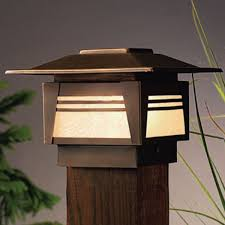 kichler lighting catalog kichler zen garden post cap deck light decksdirect