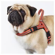 ikea dogs lurvig reflective harness orange ikea