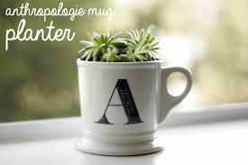 Monogram Planter Monogrammed Mug All Put Together