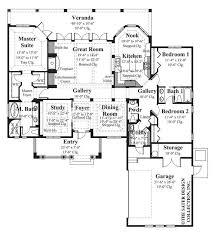 10 Bedroom House Floor Plans House Plan Mercato Sater Design Collection