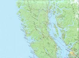 Alaska Inside Passage Map by Sunday At Sea