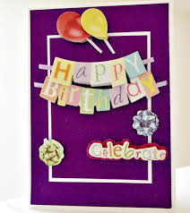 easy birthday card no fancy tools required live creatively inspired
