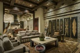 Rustic Wood Interior Walls 32 Spectacular Living Room Designs With Exposed Beams Pictures