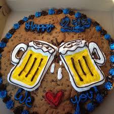 birthday cookie cake cookie cakes birthday trent s 21st birthday cookie cake