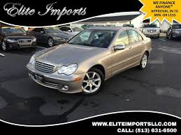 used mercedes c class finance used mercedes c class chester oh elite imports llc