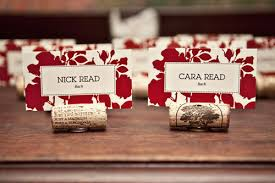 diy place cards diy cork placecards mint